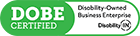 DOBE Certified - Disability Owned Business Enterprise